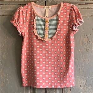 Matilda Jane Shirt, Girls Size 8